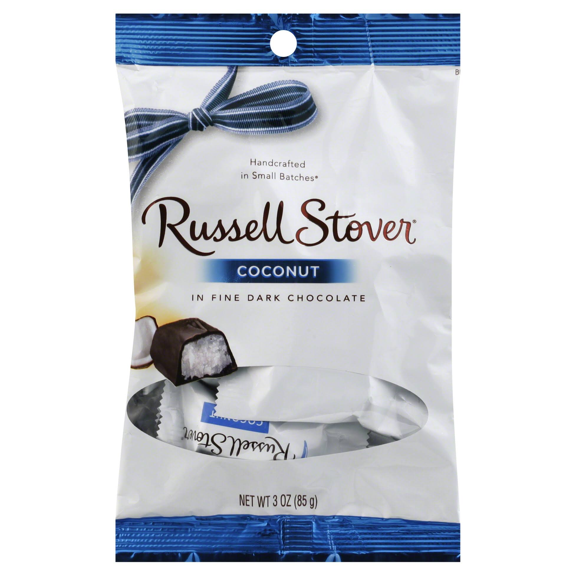 Russell Stover Coconut In Fine Dark Chocolate - 3oz