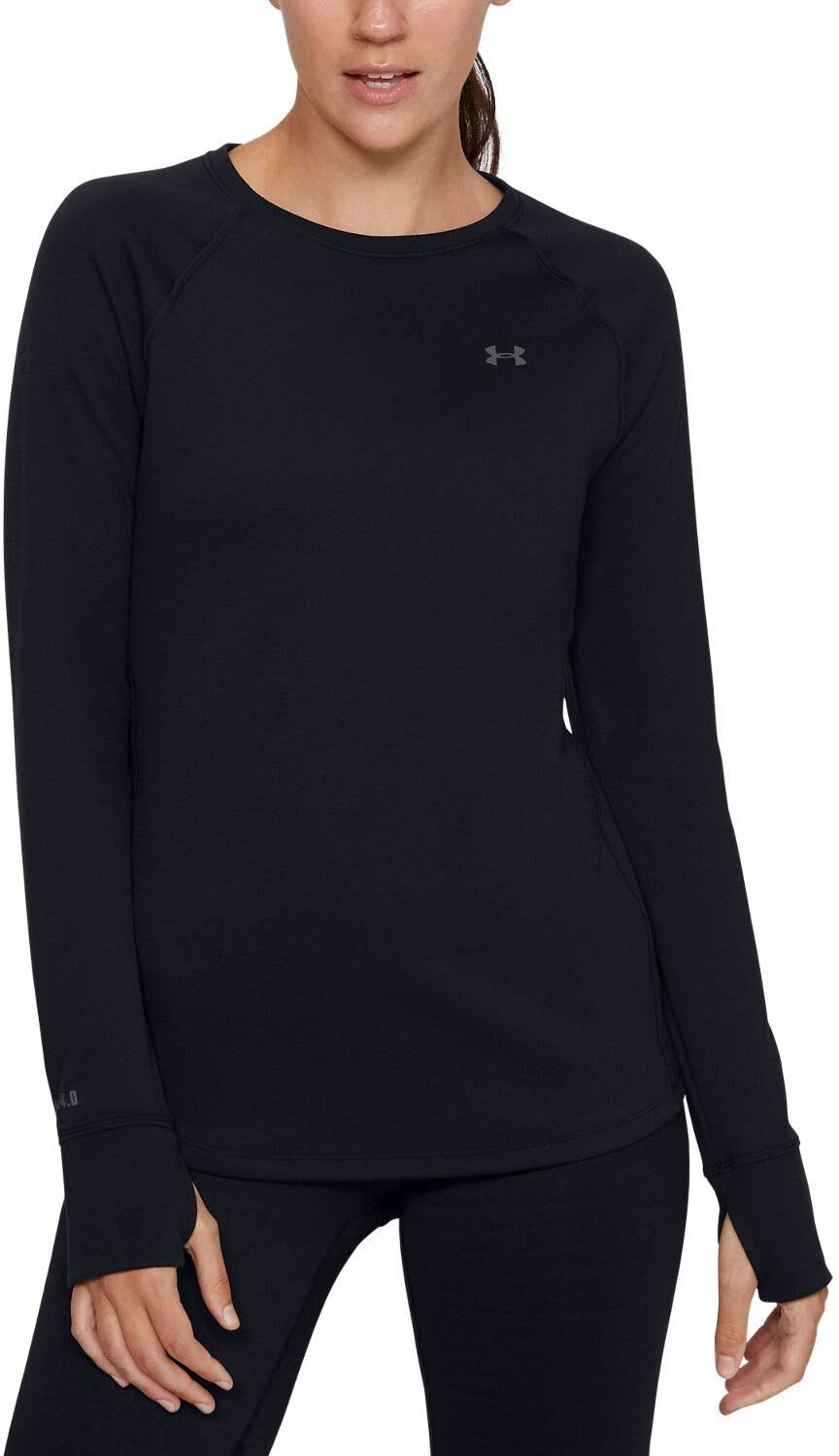 Under Armour Base 4.0 Crew - Women's Black, XL