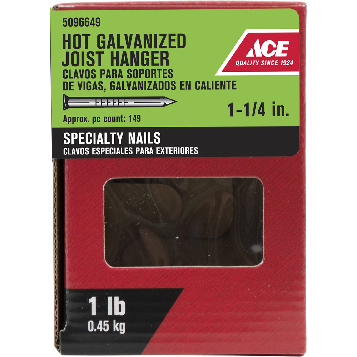 Ace Hanger NAIL1-1/4 inch 1# 5096649