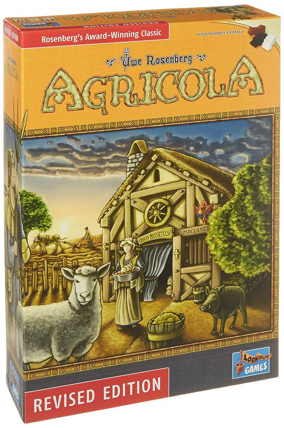 Mayfair Agricola Board Game