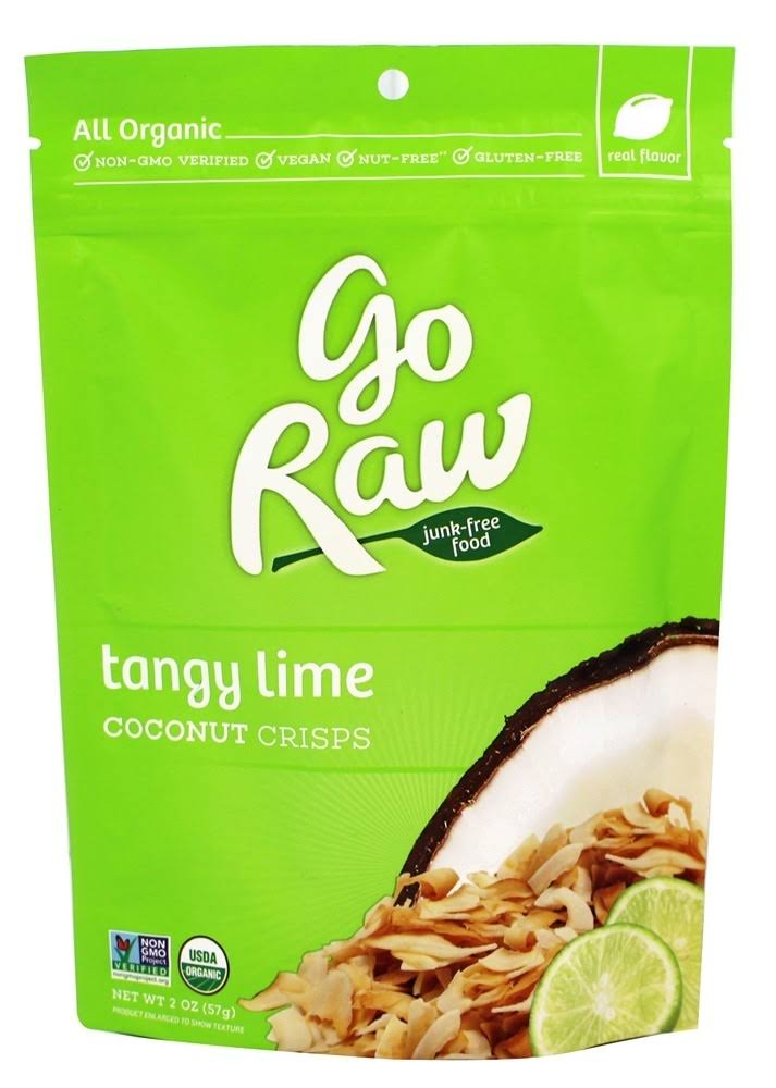 Go Raw Coconut Crisps - Lime in the Coconut, 2oz