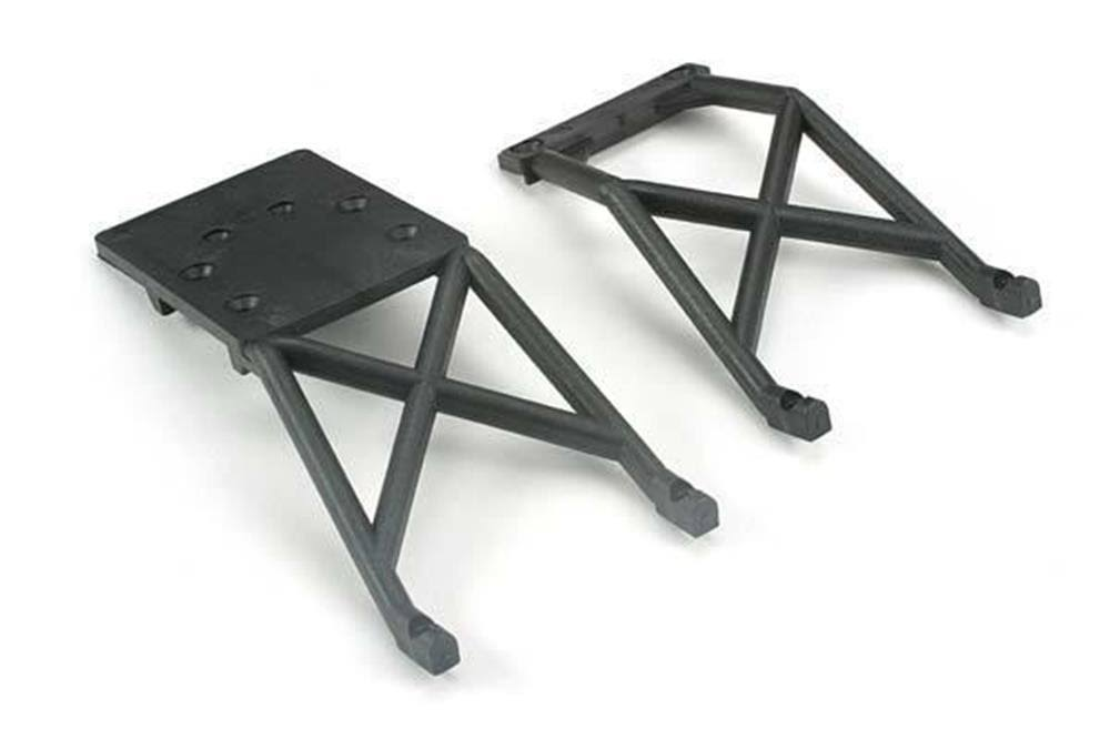 Traxxas Skid Plate Stampede Front and Rear - Black