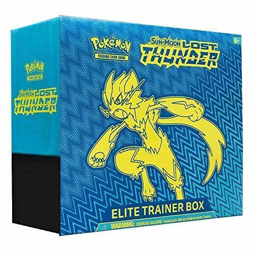 Pokemon Sun and Moon Lost Thunder Elite Trainer Box