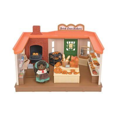 Calico Critters 1723 Brick Oven Bakery