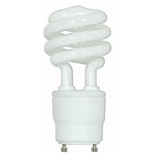 Satco Mini Twist Gu24 Base Compact Fluorescent Light Bulb - 15W, 2700k