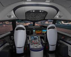 Cockpit B787