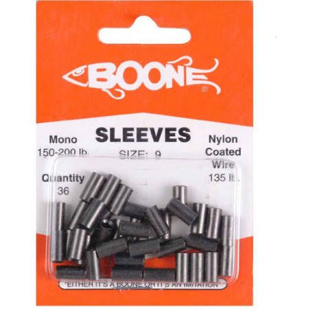 Boone Deluxe Black Big Game sleeves, 3.18mm