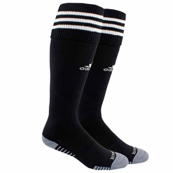 Adidas Copa Zone Cushion III Soccer Socks , Black/White, Large