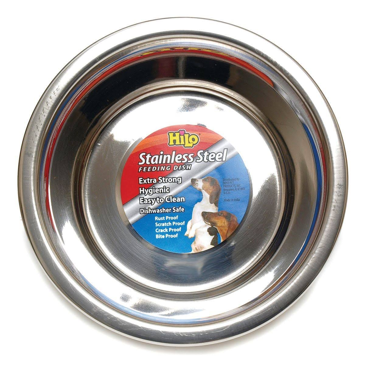 Hilo Stainless Steel Pet Dish - Medium, 2qt