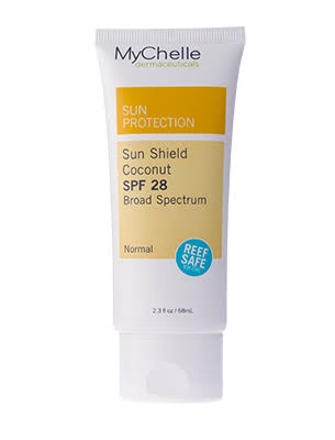MyChelle Dermaceuticals Sun Shield - SPF28, Coconut, 2.3oz
