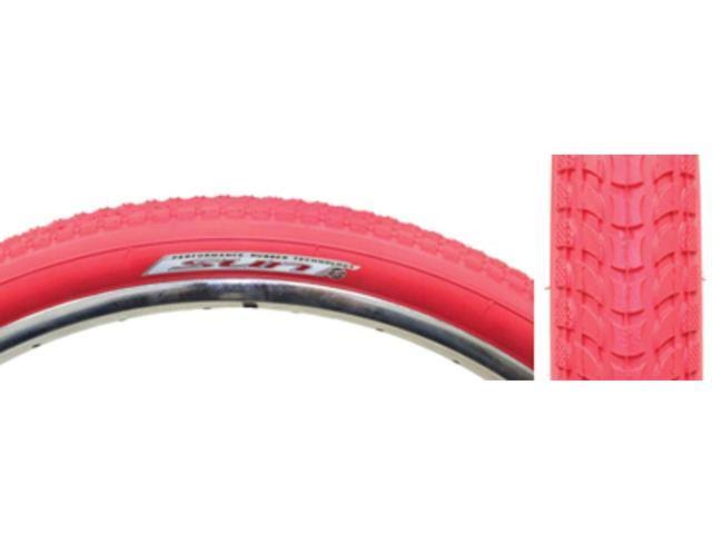 "Sunlite Cruiser 927 Tires - 26""x2.125"", Red/Red"
