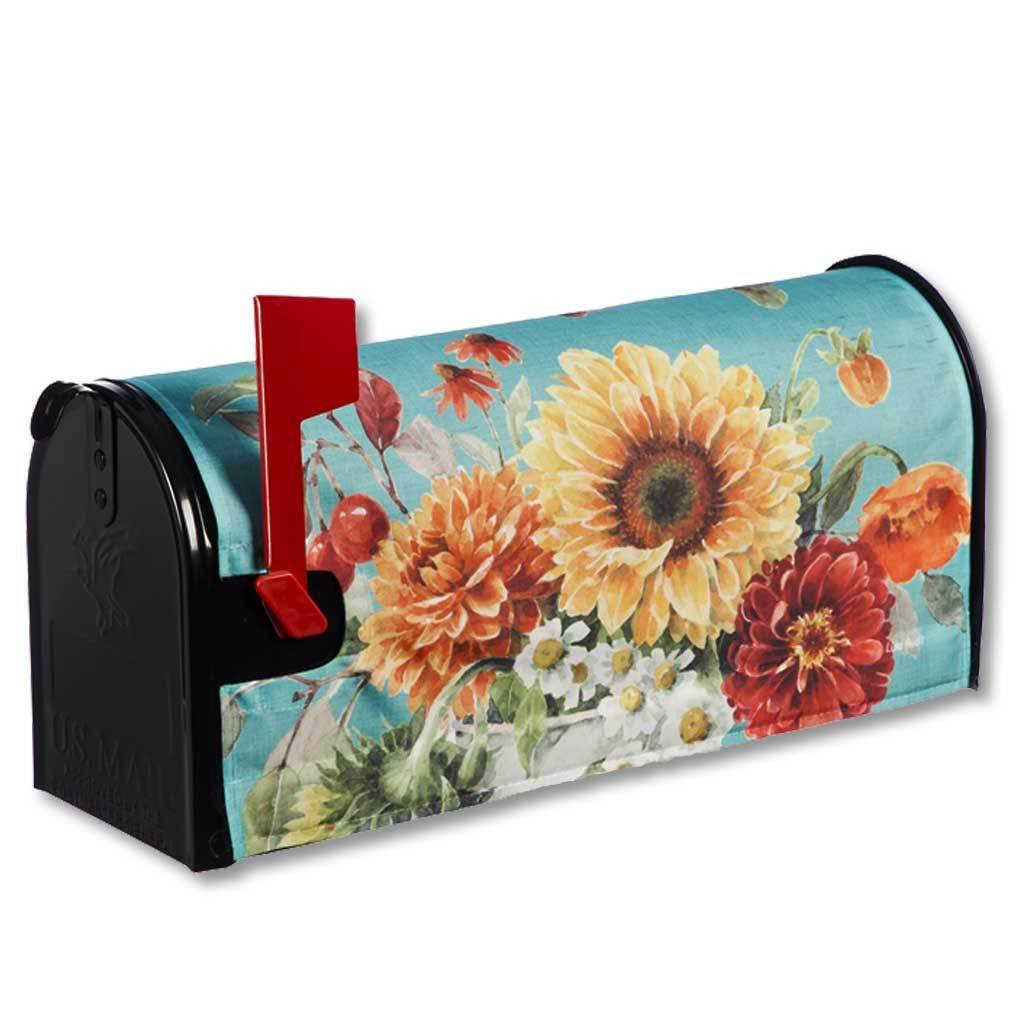 Evergreen Autumn in Bloom Mailbox Cover One-Size
