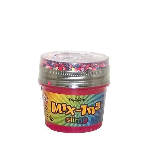 Toysmith Mix-Ins Glitter Slime with Confetti, 5.5 Ounces, Kids Unisex