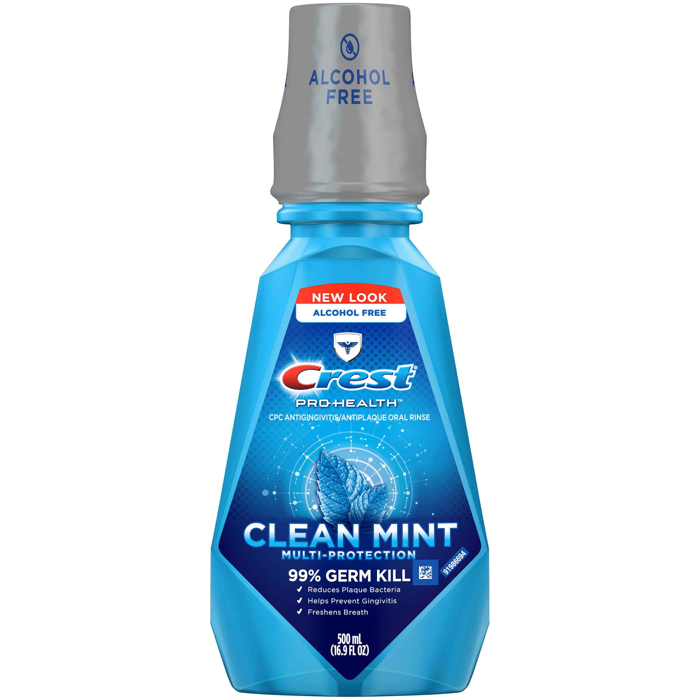 Crest Pro-Health Multi-Protection Clean Mint Antigingivitis/Antiplaque Oral Mouthwash - 16.9 fl oz