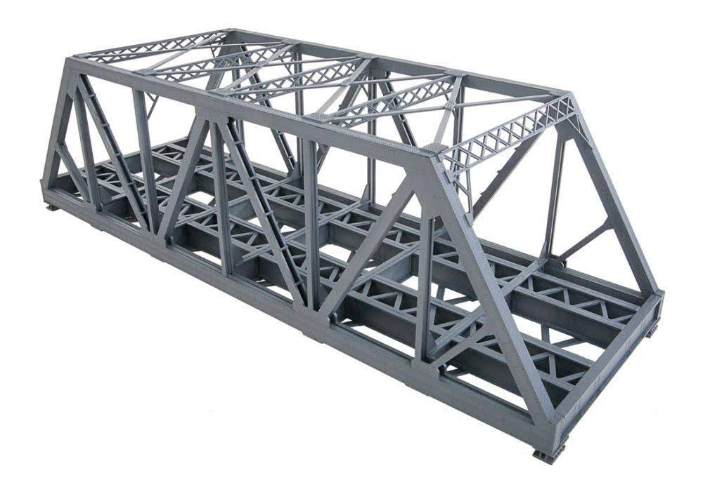 Walthers Cornerstone HO Scale Modernized Double Track Truss Bridge Train Kit