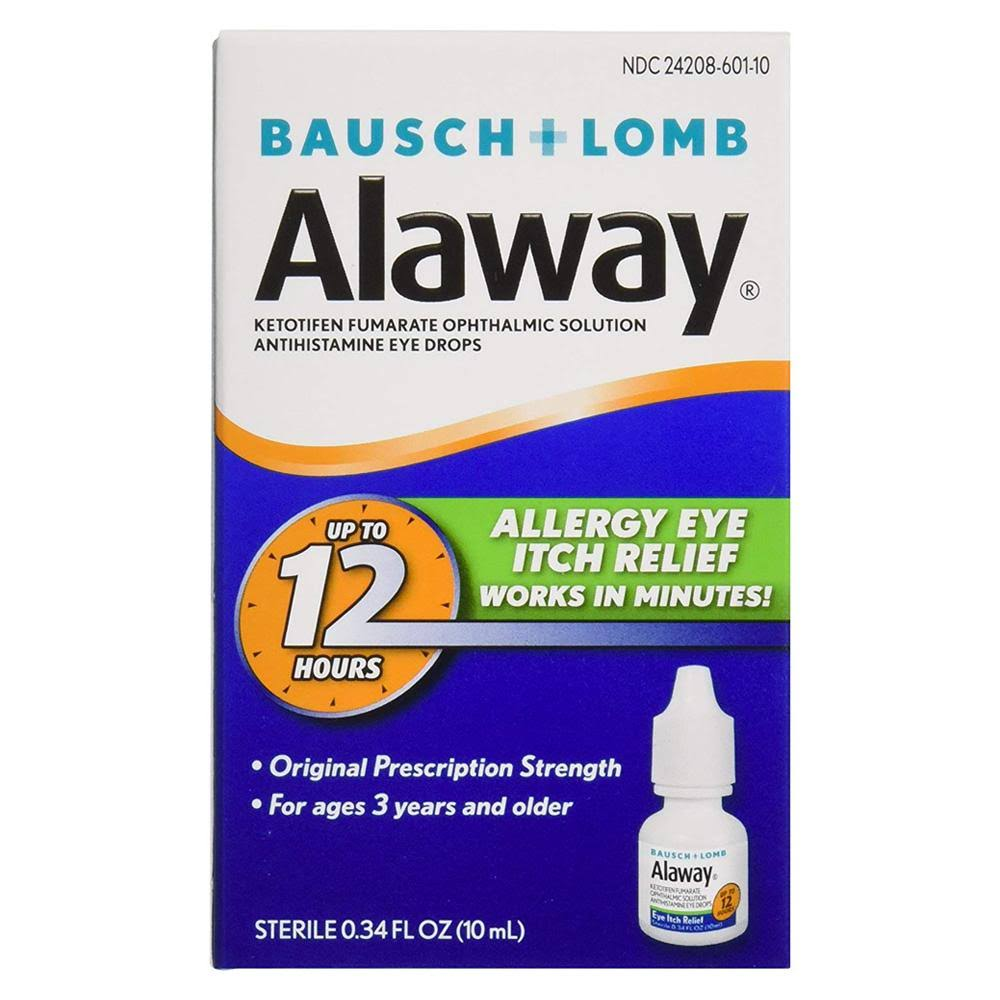 Alaway 12 Hours Allergy Eye Itch Relief - 0.34oz