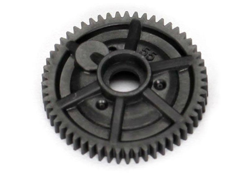 Traxxas 7047R Spur Gear - 55 Tooth, 1/16 Vehicles