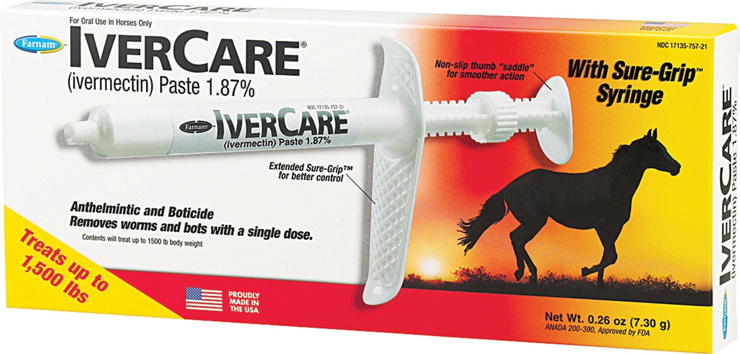 Farnman Ivercare Equine Dewormer Paste