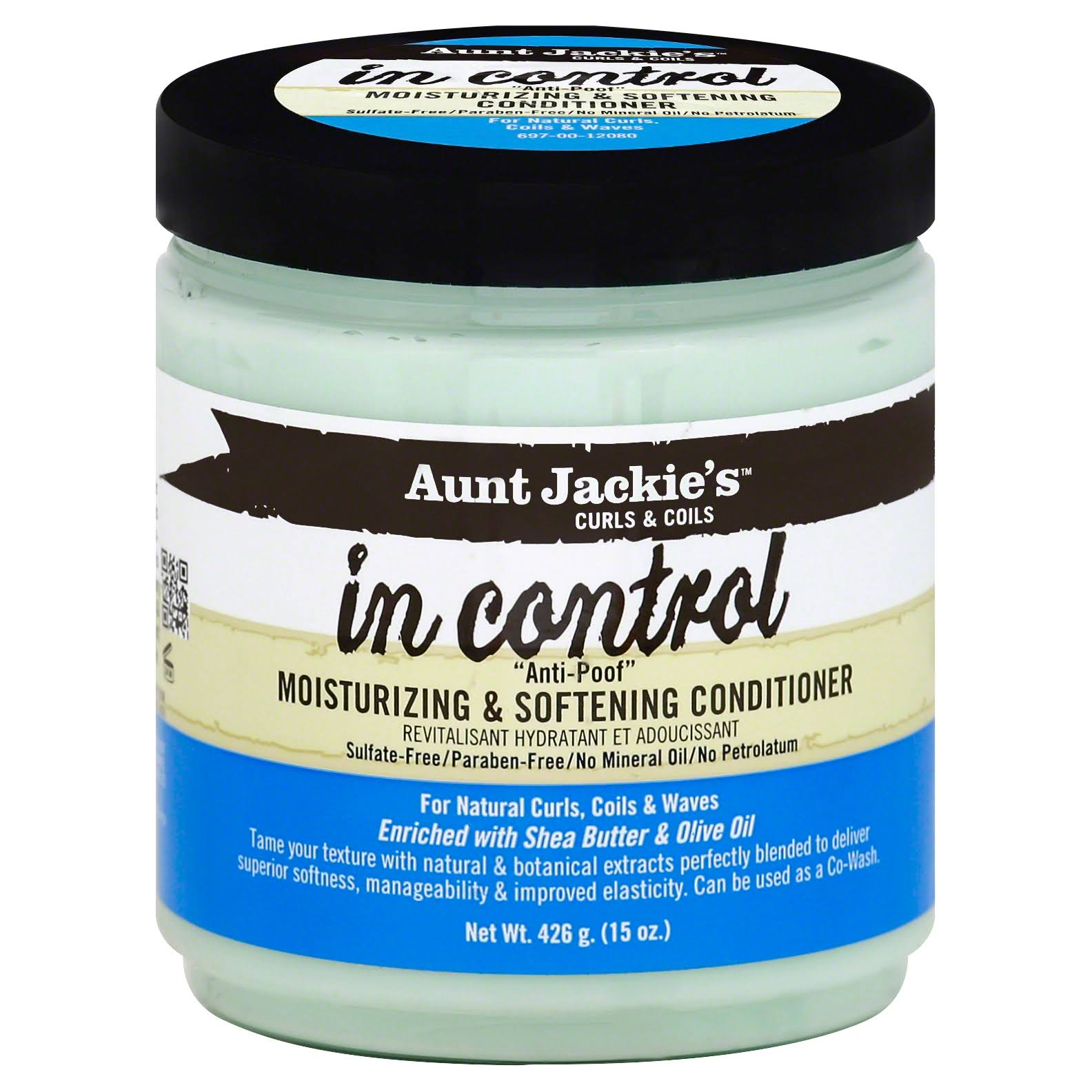 Aunt Jackies in Control Moisturizing and Softening Conditioner - 431ml
