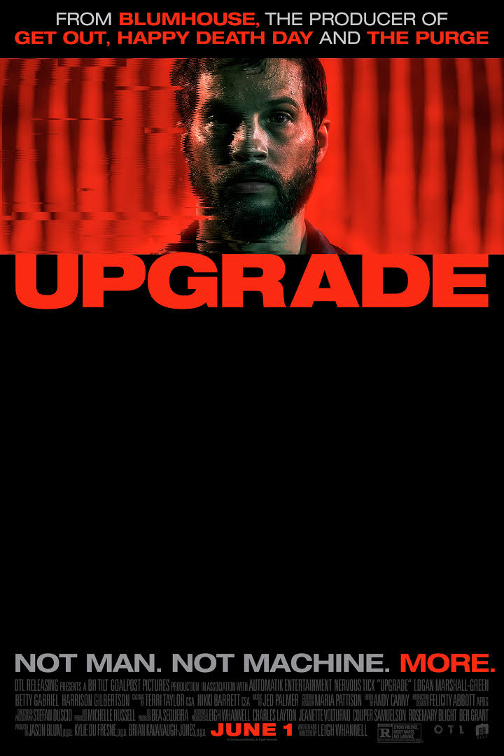 Upgrade 2018 Full Movie Download BluRay 480p 400MB And 720p 900MB