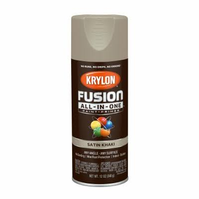 Krylon Fusion All-in-one Spray Paint & Primer - 12oz