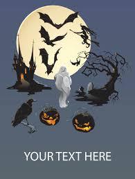 Halloween Potluck Invitation Template Free Printable by Halloween Poster Template Virtren Com
