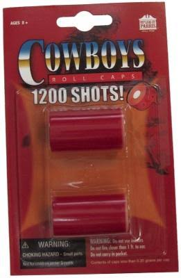 Cowboys Paper Roll Caps
