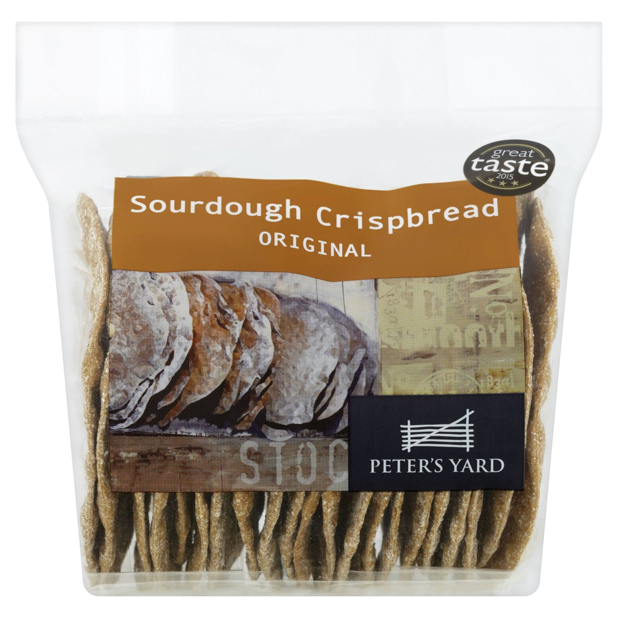 Peter's Yard Sourdough Crispbread Original - 200g