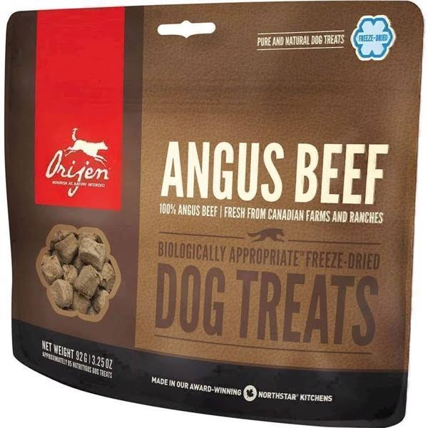 ORIJEN Freeze Dried Angus Beef Dog Treats - 1.5 oz