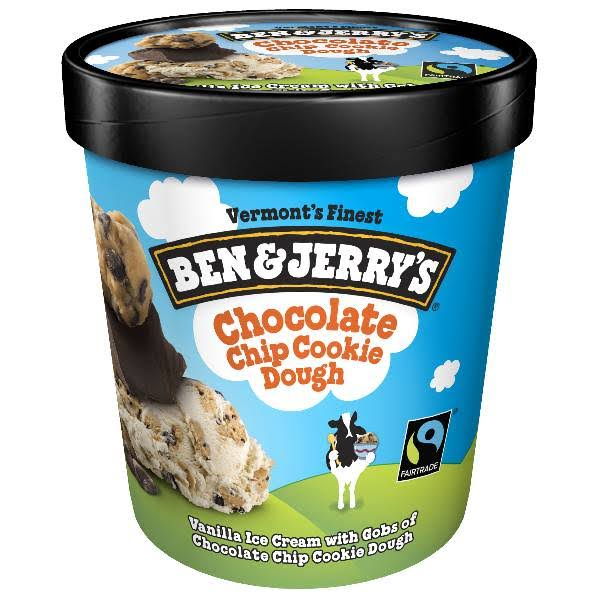 Ben & Jerry's Ice Cream - Chocolate Chip Cookie Dough, 16oz