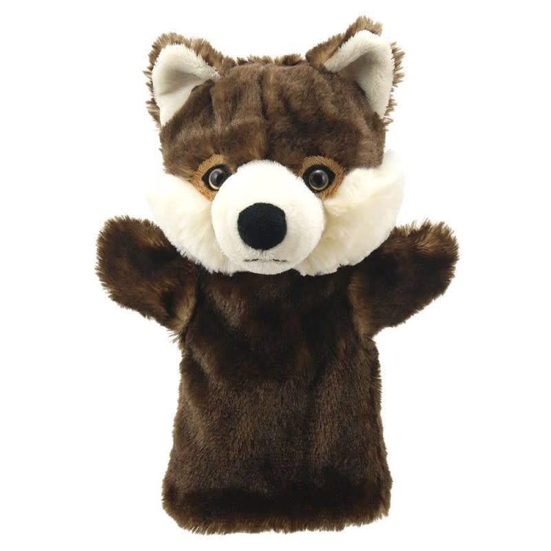 The Puppet Company Animal Buddies Puppet - Wolf, 25cm x 22cm