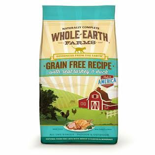 Merrick Pet Food Whole Earth Farms Grain Free Recipe Dry Cat Food
