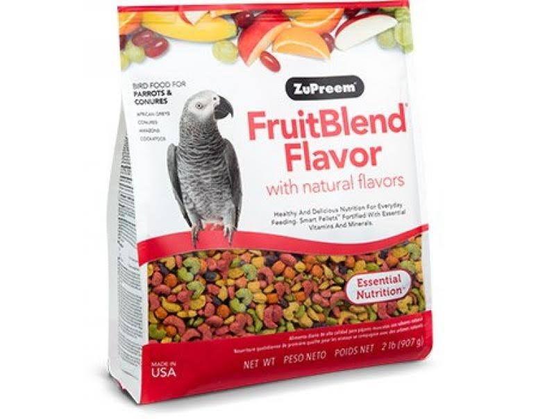 Zupreem Parrot Food - Fruit Blend