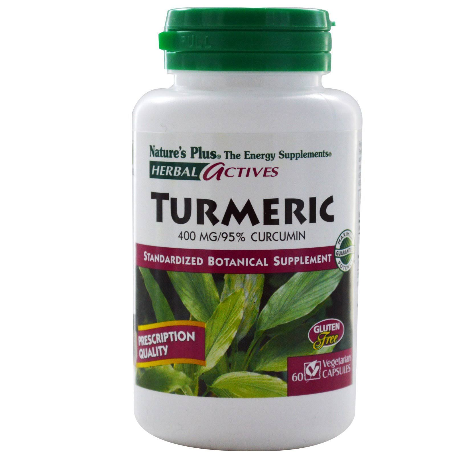 Nature's Plus Turmeric Extract - 60 Capsules