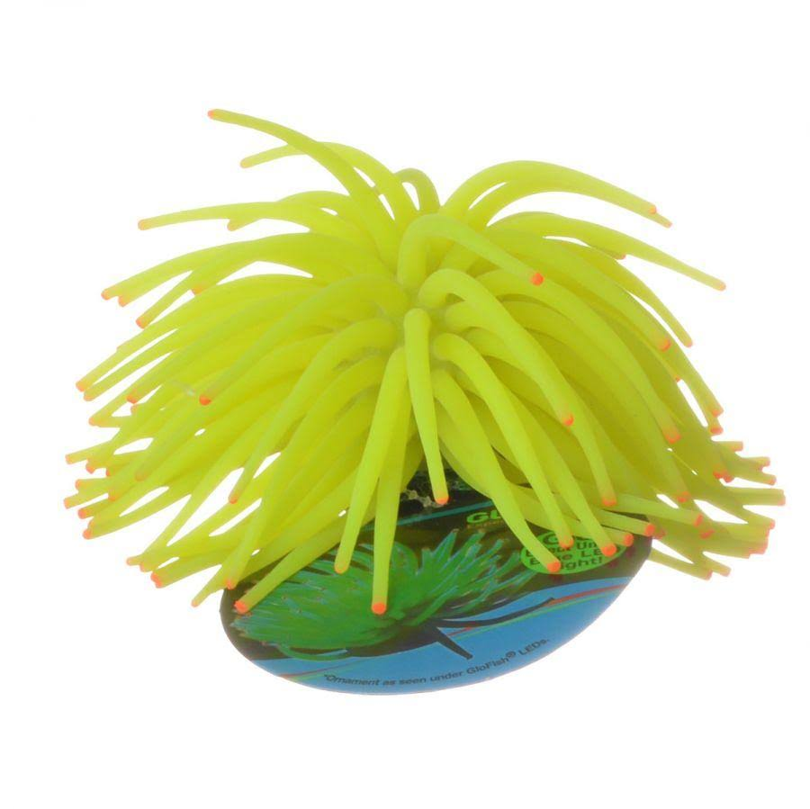 Tetra Glofish Yellow Anemone Ornament