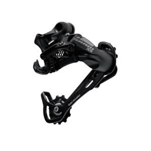 Sram X5 Aluminum Mountain Bike Rear Derailleur - Black, Medium Cage, 9 Speed