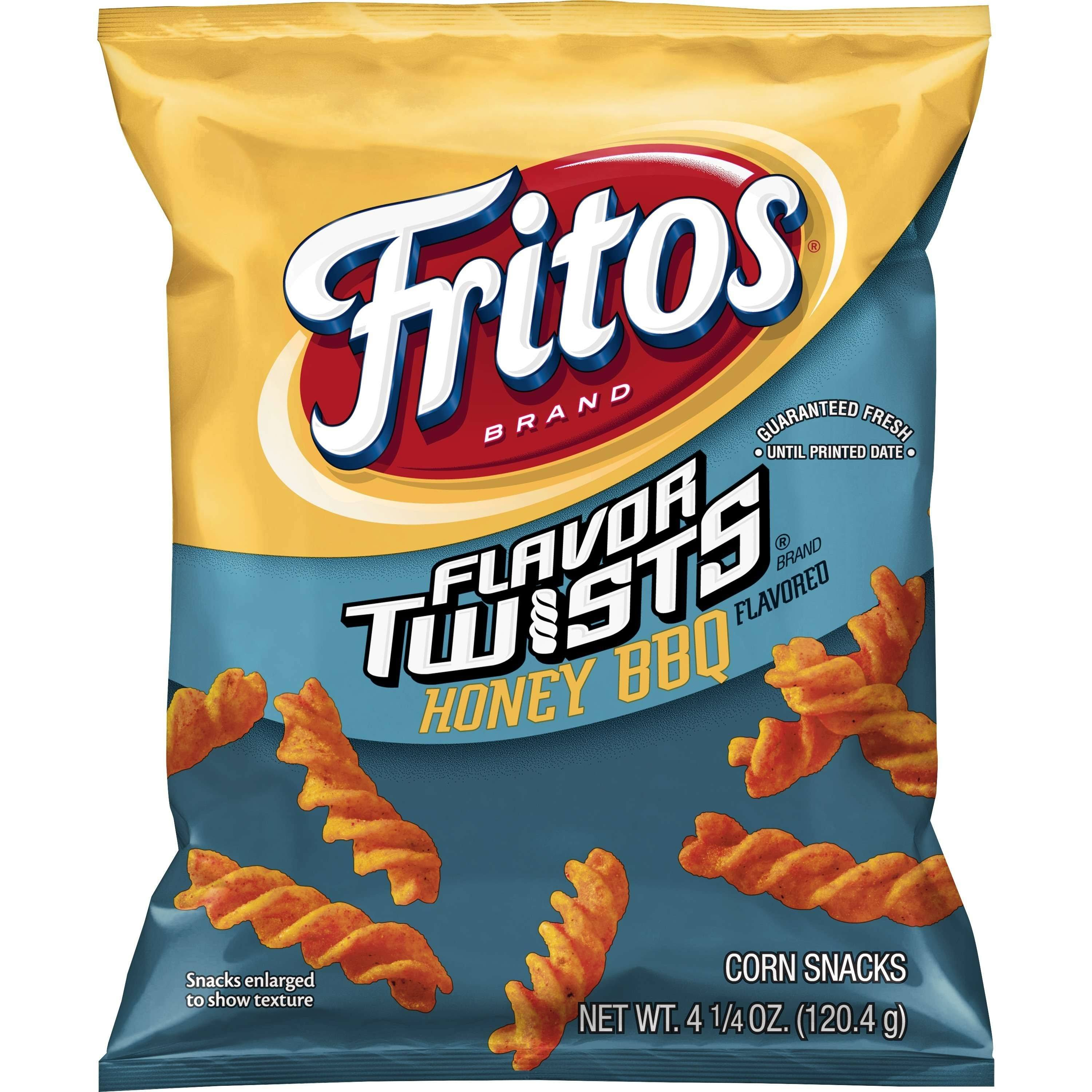 Fritos Flavor Twists Corn Snacks - Honey BBQ
