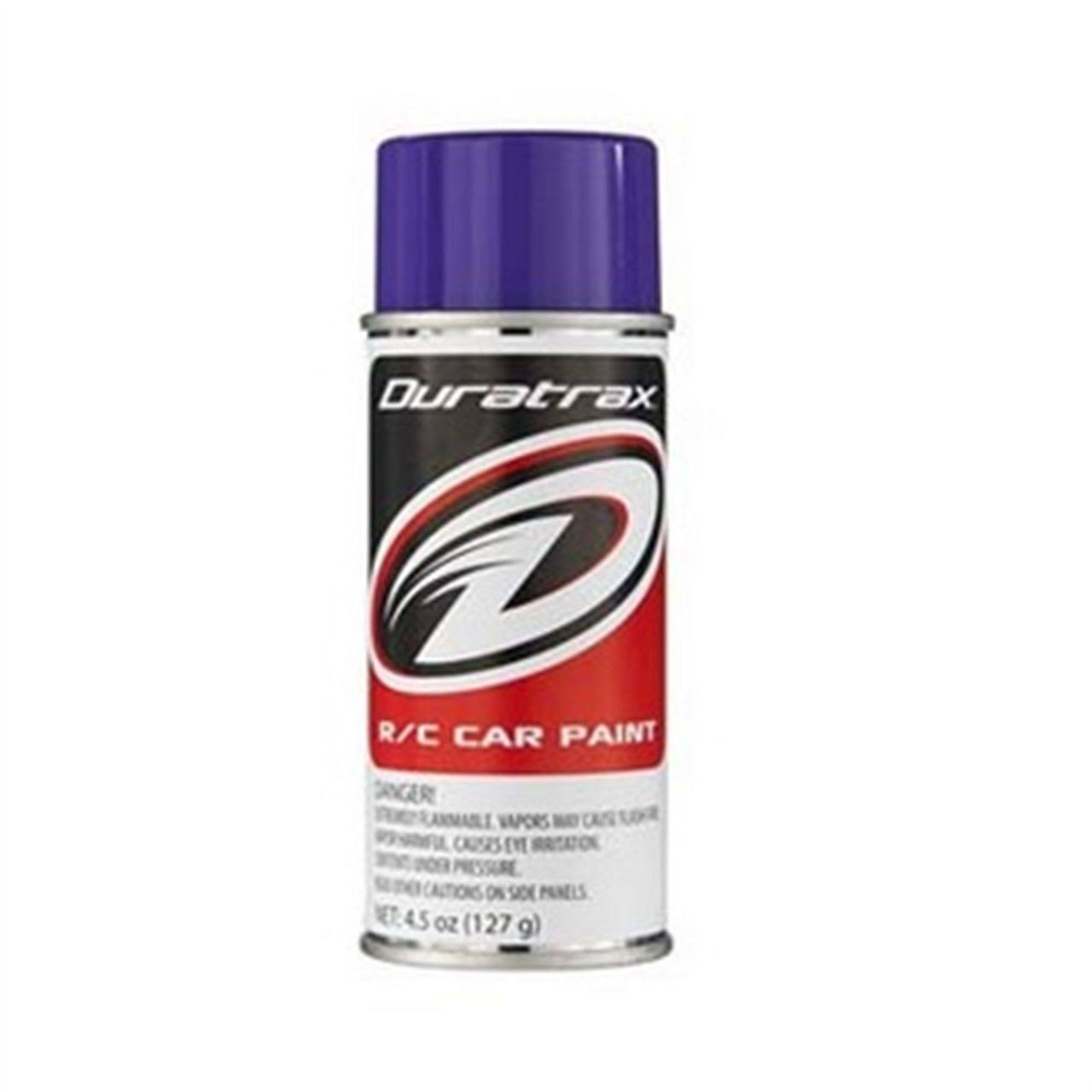 Duratrax DTXR4273 Polycarbonate Spray - Candy Purple, 4.5oz