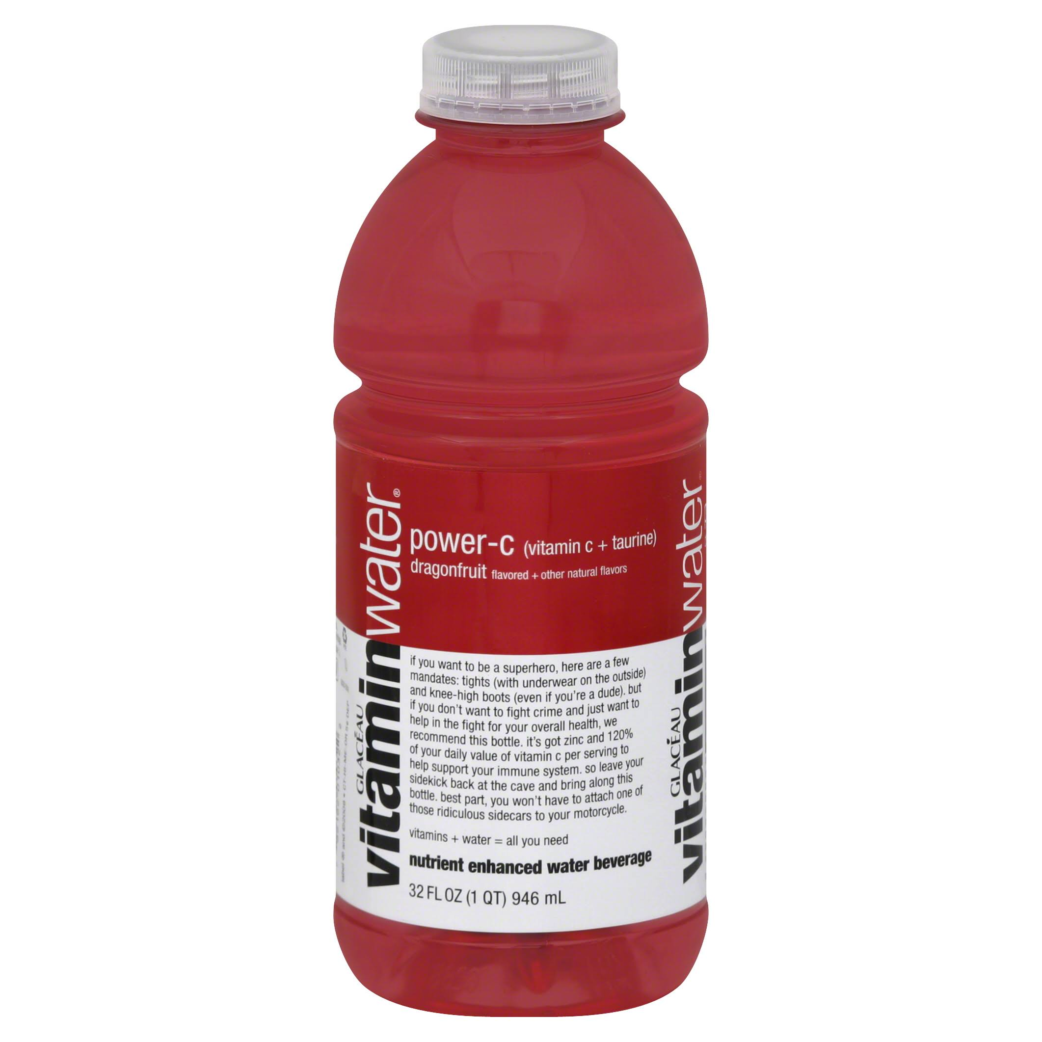 Vitamin Water Power-C - Dragon Fruit