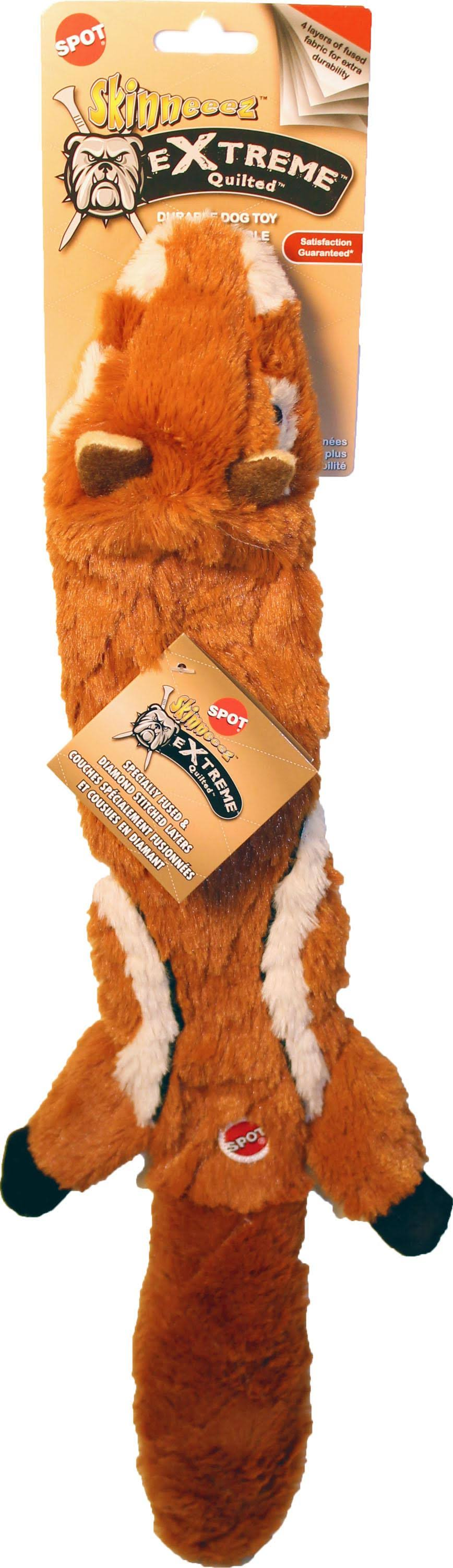 Ethical Pets Skinneeez Extreme Quilted Chipmunk Toy