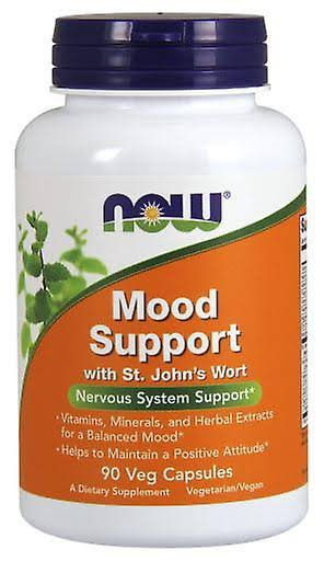 Now Foods Mood Support with St Johns Wort Supplement - 90 Veg Capsules