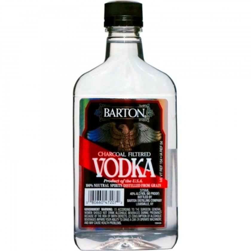 Barton Charcoal Filtered Vodka - 375ml