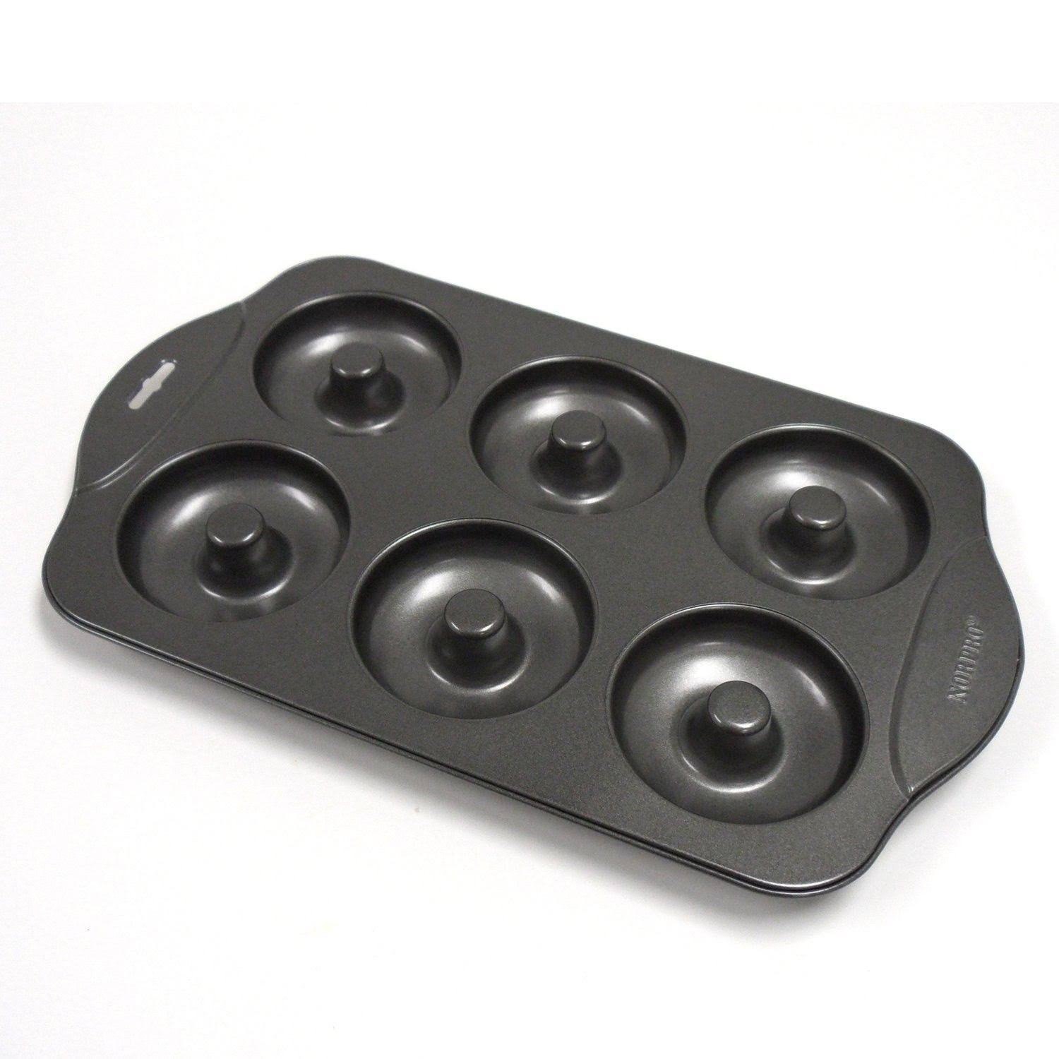 Norpro 6-Count Nonstick Donut Pan - Black