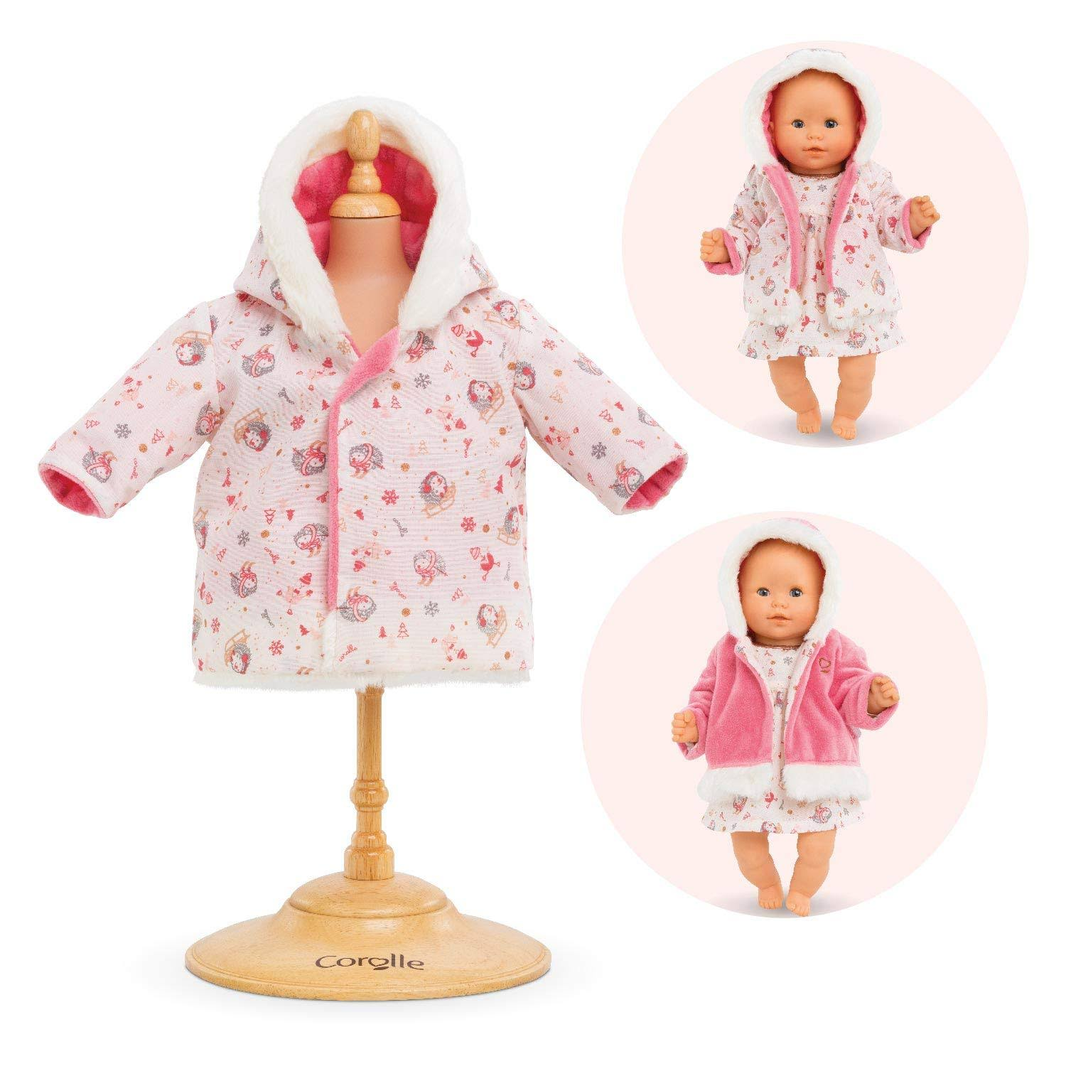 Corolle Coat- Enchanted Winter for 12-Inch Baby Doll
