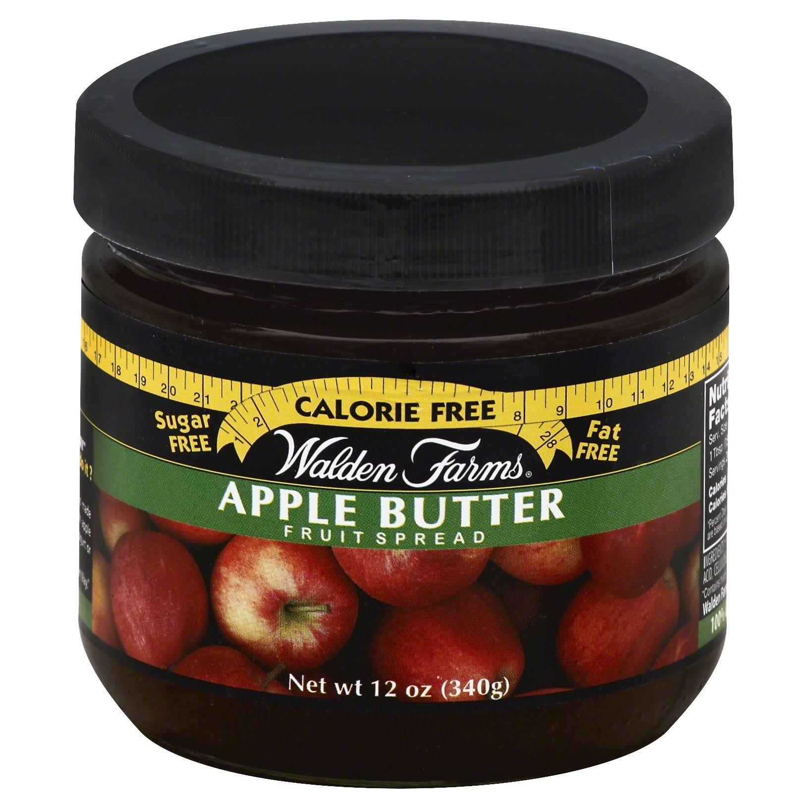 Walden Farms Calorie-Free Apple Butter Fruit Spread - 340g