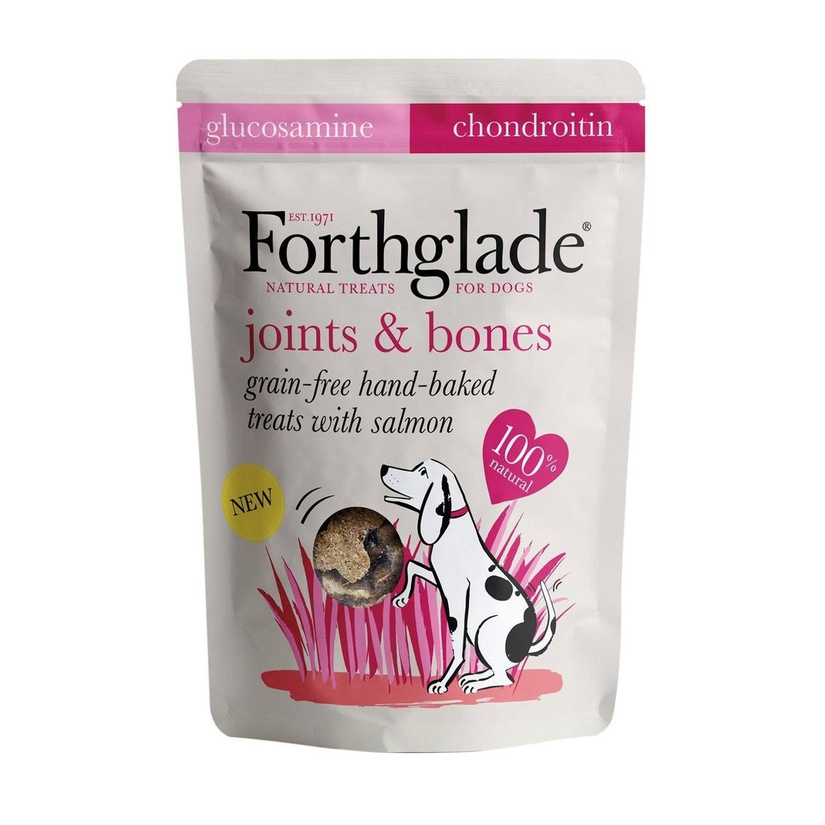 Forthglade Joints & Bones Hand baked Treats with Salmon - 150g