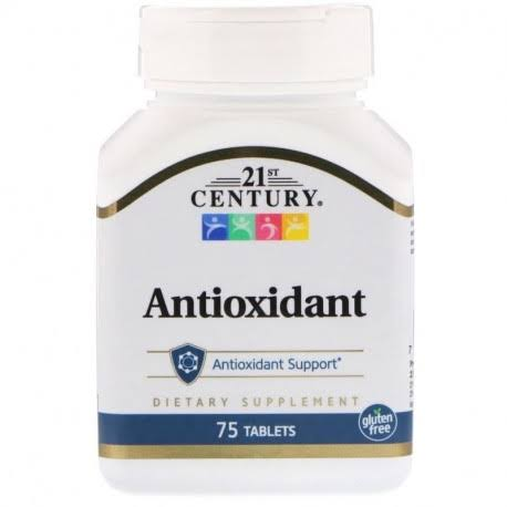 21st Century Health Care Antioxidant Supplements - 75ct