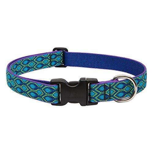 LupinePet Originals 1 Rain Song 16-28 Adjustable Collar for Large Dogs