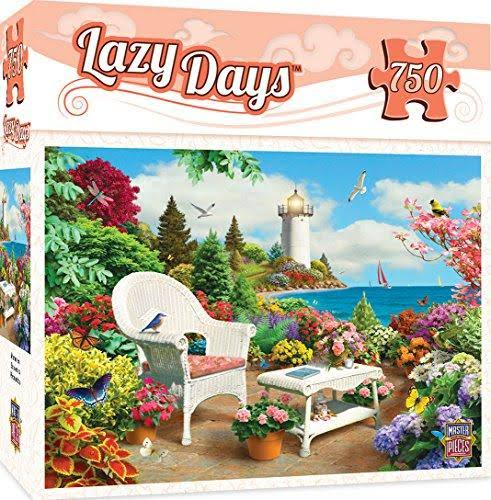 Masterpieces Lazy Days Memories Seaside Jigsaw Puzzle - 750pcs