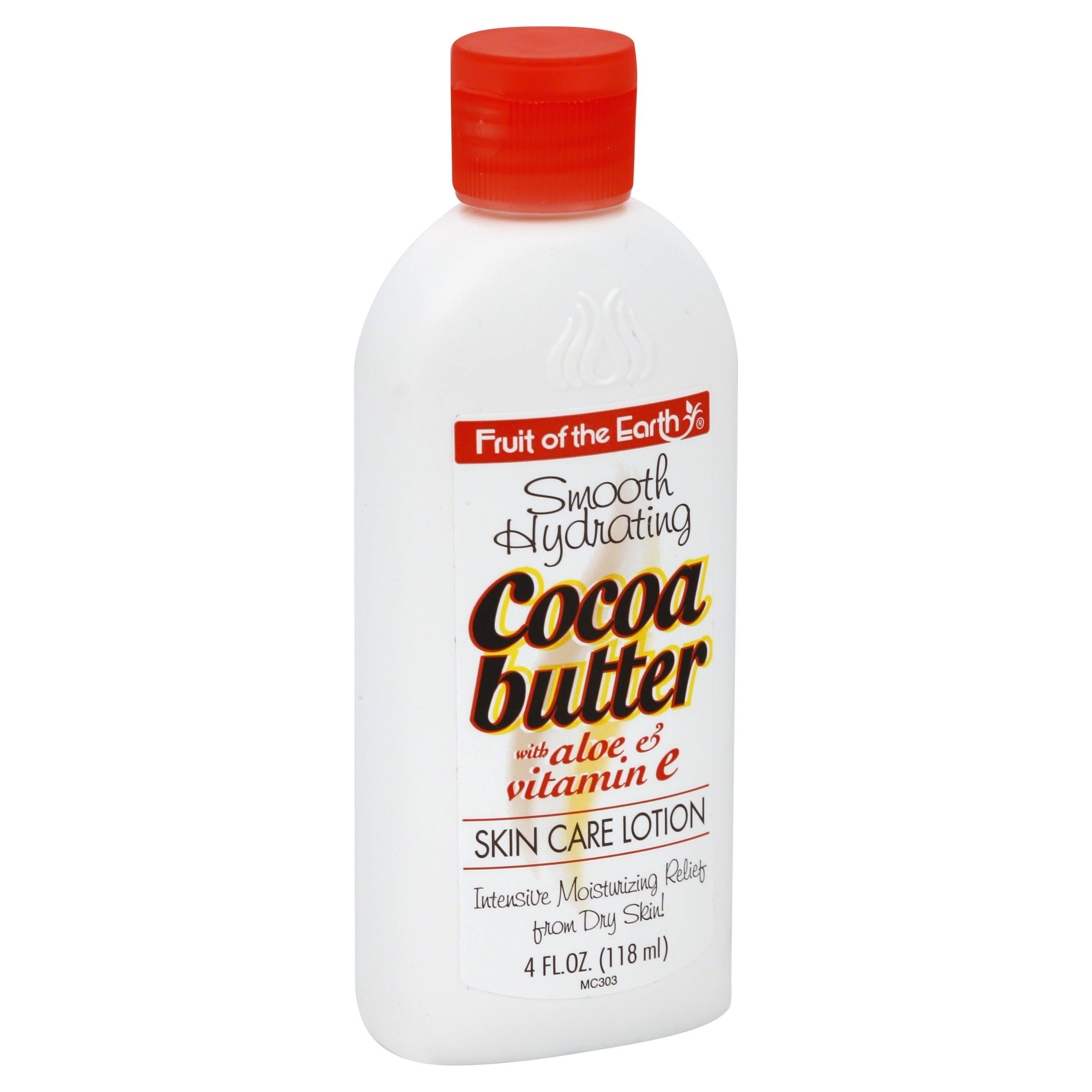 Fruit of the Earth Lotion - Cocoa Butter with Aloe, 4oz